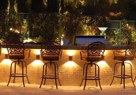outdoor kitchen lighting. Outdoor Kitchen Lighting Ideas. Outstanding Bar Design With Several Beautiful Motives Of Back Chairs