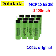 100% <b>New</b> 18650 battery 3400mah <b>3.7v</b> lithium battery for ...