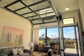 home interiors glass garage doors
