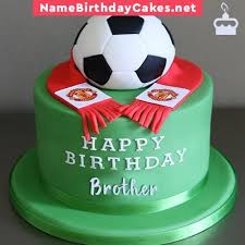 Birthday Cake With Name And Photo For Younger Brother Babangrichieorg