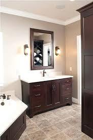 brown bathroom cabinets bathroom wall cabinets dark