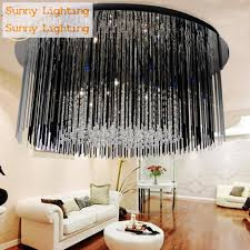 black crystal lighting. dining room purple u0026 black crystal lamp luminaria modern ceiling g4 led living lighting