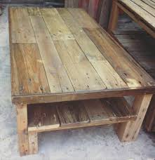 coffee table large wooden pallet 101 pallets dark wood with drawers storage square round reclaimed legs sol