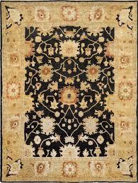 oushak osh115d rug black light gold hover to zoom