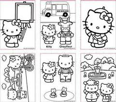 Small Picture Pinterestteki 25den fazla en iyi Hello kitty colouring pages fikri