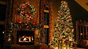 Living Room Decorations For Christmas Decoration Elegant Classy Christmas Decorations With Fireplace