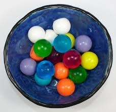 Decorative Marble Balls Soap Spheres set of 100 marbles balls circles gumballs 100