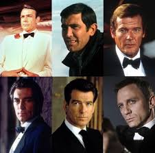 Image result for six james bond actors