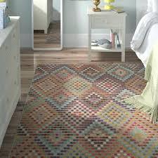 viv rae power loomed multicolor area rug reviews wayfair multi color area rugs multi color woven