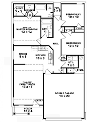 3 bedroom home design plans. Beautiful Home 1640 3 Bedroom 2 Bath House S 653710 One Story Country Style Bedroom  In Home Design Plans