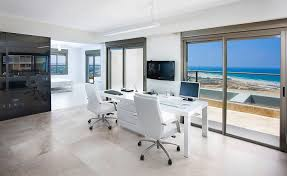 white home office. Contemporary White Home Office Design D