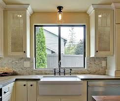 Cabinet Door With Glass Insert Undermounted Kitchen Sink Large ... Cabinet  Door With Glass Insert Undermounted Kitchen Sink Large Decorative Mirrors