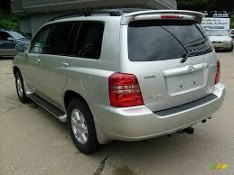 2003 Millenium Silver Metallic Toyota Highlander Limited 4WD ...