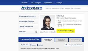 Upload Resume Di Jobstreet All New Resume Examples