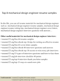 Mechanical Design Engineer Resume Cover Letter top60mechanicaldesignengineerresumesamples60conversiongate60thumbnail60jpgcb=160279660602 11