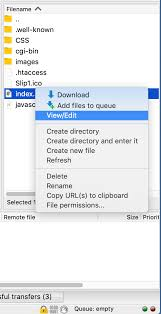 macos - How to Open a File From FTP Directly In Text Editor / Visual ...