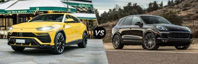 The bentley is very much the one answering all the questions in class, while the lamborghini is the more popular brother who captains the football team. 2018 Lamborghini Urus Vs 2018 Porsche Cayenne