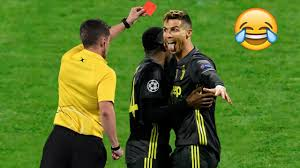 top 10 most crazy funny red card reaction in football hd