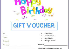 Printable Gift Vouchers Template Unique Blank Coupon Template Printable Free Birthday Coupons Templates Gift