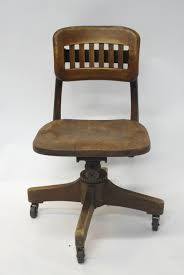antique swivel office chair. Antique Wood Swivel Office Chair Wooden Desk Attractive Oak Chairs A