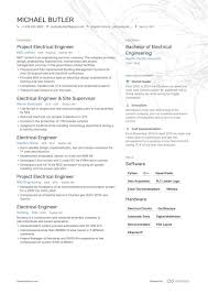 Sample Of Electrician Resumes 200 Free Professional Resume Examples And Samples For 2019
