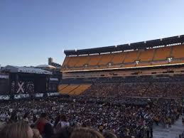 Heinz Field Section 113 Row U Seat 4 One Direction Tour On
