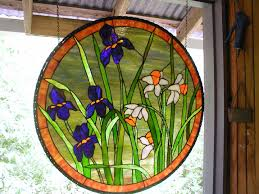 stained glass window hanging hardware