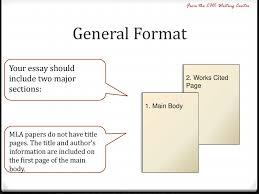 The Basics Of Mla Formatting Ppt Download