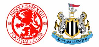 Image result for Middlesbrough v Newcastle