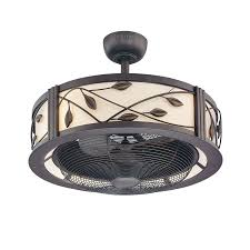 home interior reduced caged ceiling fans modern fan shades of light from caged ceiling fans