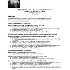 Sample Resume For No Experience Flight Attendant Inspirationa Flight ...