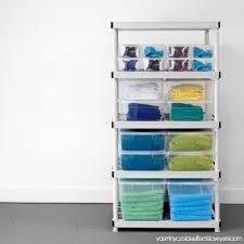 d 5 shelf plastic ventilated storage shelving unit