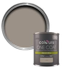 Colours One Coat Taupe Eggshell Wood & Metal Paint 750 ml | Departments |  DIY at B&Q
