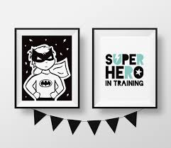 wall art black and white kids room nursery wall art decor keepsake birth announcements birth details print colour new zealand made baby gift  on nursery wall art nz with  15 each superhero 8 x 10 prints wall art black and white