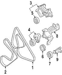 com acirc reg pontiac grand prix belts pulleys oem parts 2005 pontiac grand prix gtp v6 3 8 liter gas belts pulleys