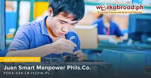 WorkAbroad.ph - Juan Smart Manpower Phils.Co. POEA License ...
