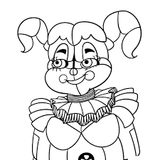 Fnaf Sister Location Coloring Pages Beautiful Free Printable Five