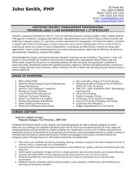 Project Manager Resume Sample & Template