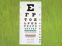 Snellen Chart 20 Feet Details About Snellens Distance Vision Eye Chart 20 Ft Labgo 25