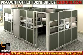 Discount Office Cubicles Custom Office Cubicle Layout Design