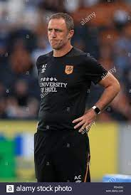 Hull City's assistant manager Andy Crosby Stock Photo - Alamy