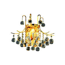 3 light 16 gold wall sconce asfour crystal dining living room bathroom fixture
