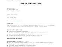Executive Housekeeper Resume Custom Housekeeper Resume Sample Nanny Housekeeper Resume Examples Sample