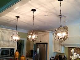 awesome three orb chandelier with paint kitchen cabinets for traditional kitchen design