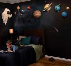 Space Bedroom Wallpaper Boys Teenager Student Bedroom Wallpaper With Designs Wall Decor