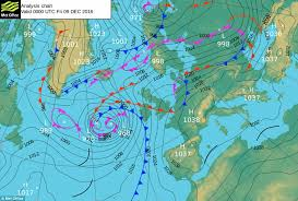 surface pressure charts uk weather on christmas day 2016 could be the hottest on record