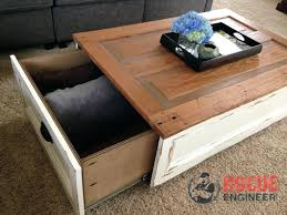 coffee table with storage free plans rogue engineer tables drawers home interior r