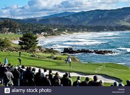 Designer Of Pebble Beach Golf Course Pebble Beach Golf Stock Photos Pebble Beach Golf Stock
