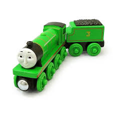 thomas and friends wooden railway henry train engine