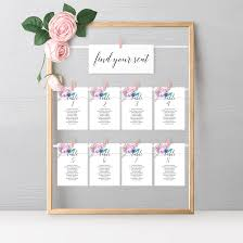 Mary Merry Seating Chart Stationery